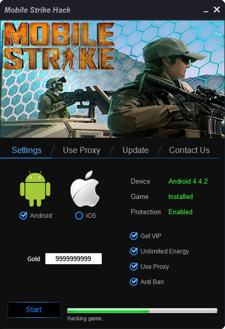 Mobile Strike Hack Tool