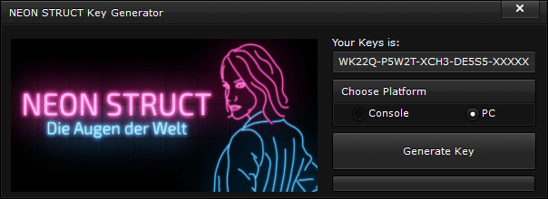 neon struct key generator free activation code 2015 NEON STRUCT Key Generator – FREE Activation Code 2015