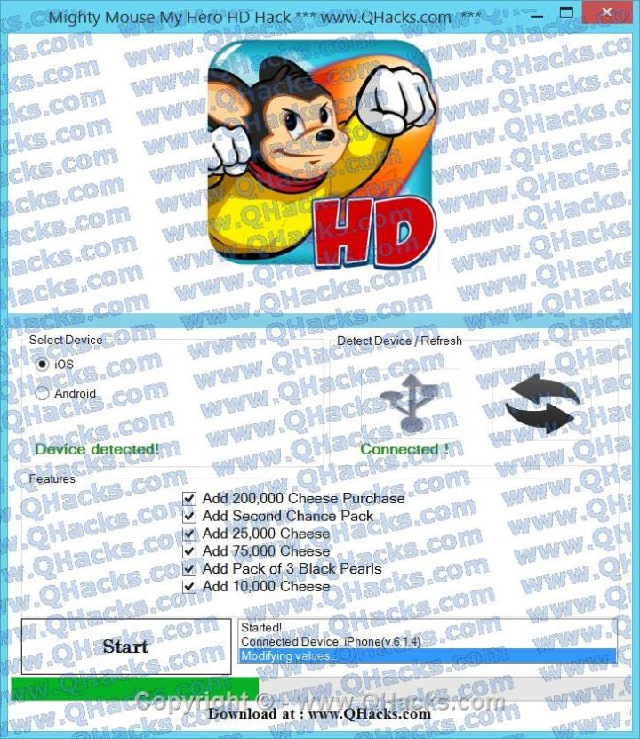 Mighty Mouse My Hero HD hacks