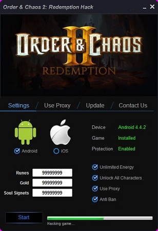 Order and Chaos 2 Redemption Hack Tool