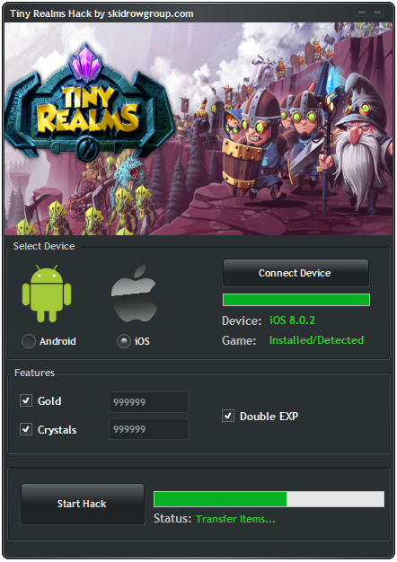 Tiny Realms Hack