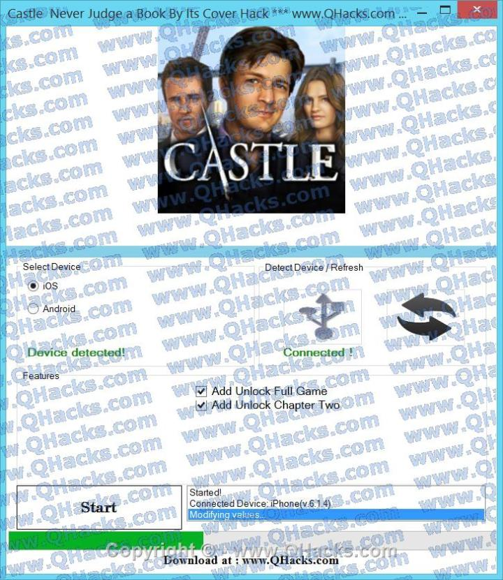 Castle Never Judge a Book By Its Cover hacks