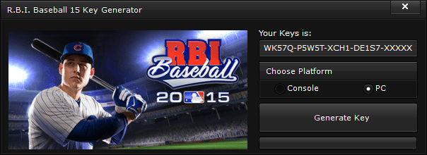 r b i baseball 15 key generator free activation code 2015 R.B.I. Baseball 15 Key Generator – FREE Activation Code 2015