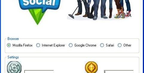 The Sims Social Hack Today we introduce to you the 100% working The Sims Social Hack Tool which add unlimited Simoleons or Simcash to your facebook application in just one second. All you need to do is just to login and press activate hack. We guarantee you that you will be the best The Sims Social player after use this amazing tool