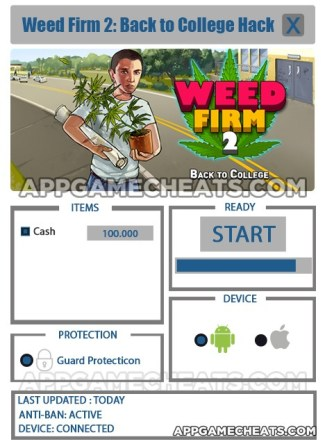 Weed Firm 2: Back to College Hack