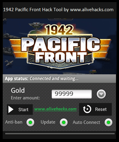 1942 Pacific Front Hack