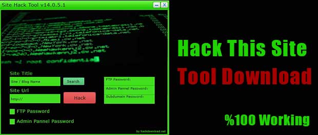 Hack This Site Tool