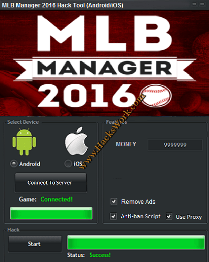 MLB Manager 2016 Hack