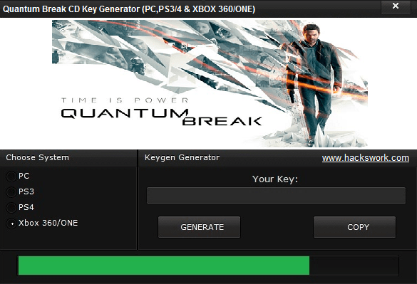 Quantum Break CD Key Generator
