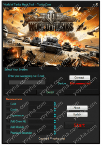 World of Tanks Hack and Cheats