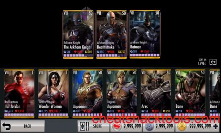 INJUSTICE: GODS AMONG US CHEATS HACK 2020 Download