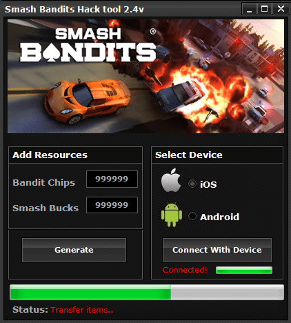 Smash Bandits Hack