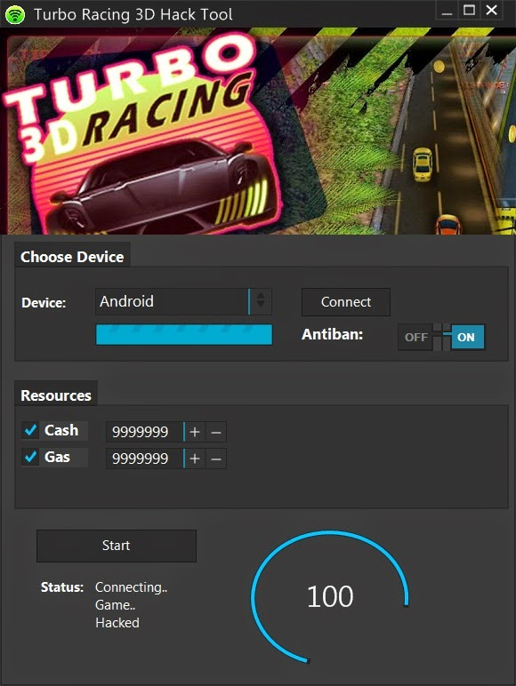 Turbo Racing 3D Cheat Hack