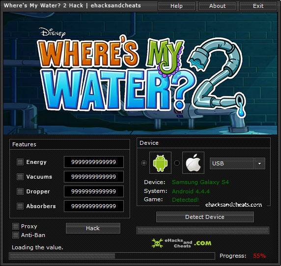 Where's My Water 2 Hack