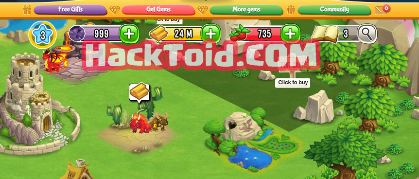 Dragon City Hack Unlimited Gems Gold And Food Cheat