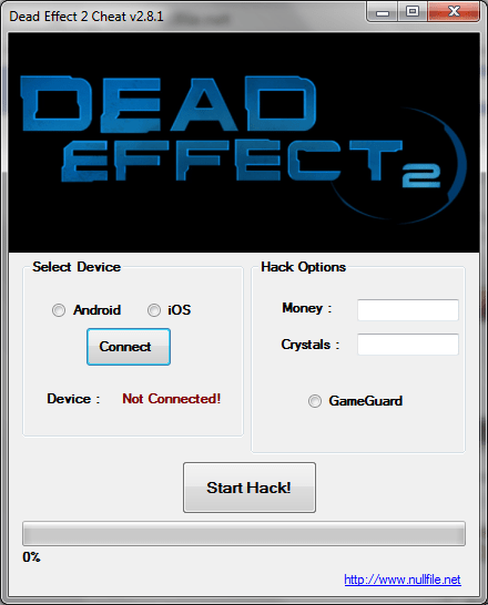 DEAD EFFECT 2 CHEAT TOOL
