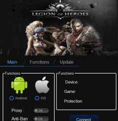 Legion of Heroes Hack