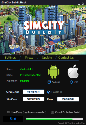 Simcity Buildit Cheats Hack