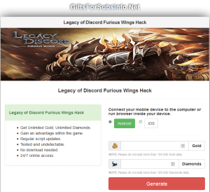 Legacy of Discord Furious Wings Hack Cheats