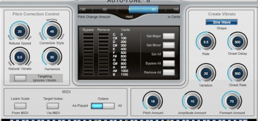 Auto-Tune 8 Crack + Serial Key