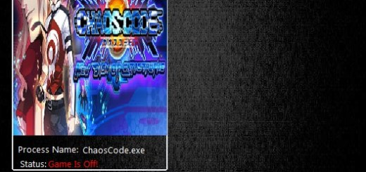CHAOS CODE NEW SIGN OF CATASTROPHE - TRAINER