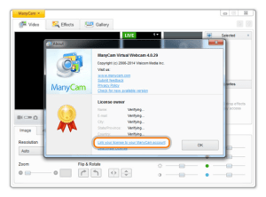 ManyCam Pro 4.1 Crack with Serial Keygen Free Download