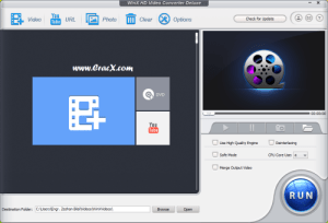 WinX HD Video Converter Deluxe 5.6 Crack + Key Free Download