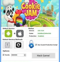Cookie Jam Unlimited Moves and 3 Combo Match Hack