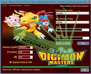 Digimon Masters Hack and Cheats