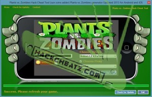 Plants vs. Zombies Hack Cheat Tool