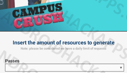 Campus Crush Hack APK Passes