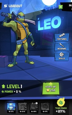 Rise of the TMNT Ninja Run hack for Android and iOS