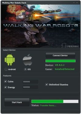 Walking War Robots Hack