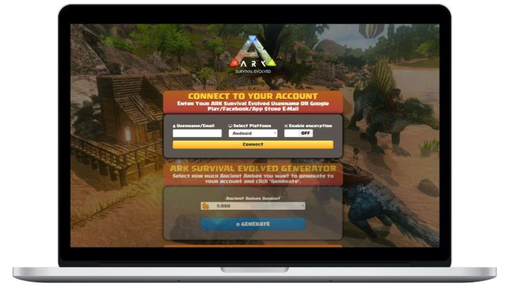 ARK: Survival Evolved hack cash generator