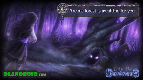Into the Darkness - match 3 Alice's story game Apk Full + OBB Data