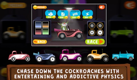 Oggy Go - World of Racing (The Official Game) Apk Mod
