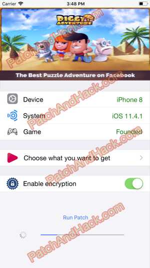 Diggy's Adventure Hack - patch and cheats for Gold, Coins, Gems and other stuff on Anroid and iOS