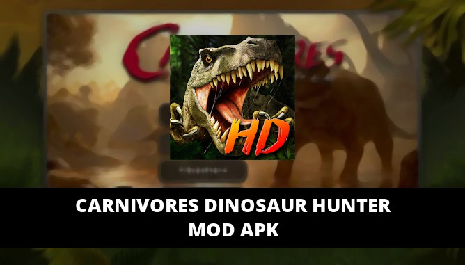 Carnivores Dinosaur Hunter Featured Cover