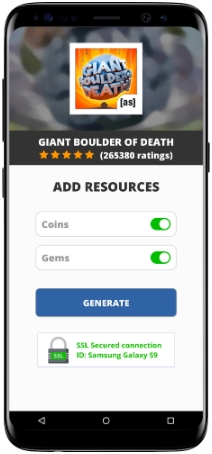 Giant Boulder Of Death MOD APK Unlimited Coins Gems