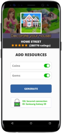 Home Street MOD APK Unlimited Coins Gems