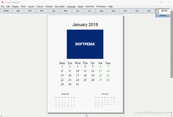 Simply Calenders 5.7 Crack With Activation Code