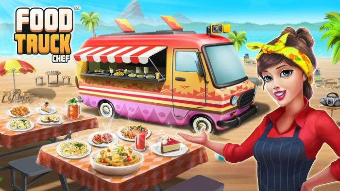 food truck chef gameplay first