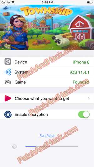 Township Hack and patch