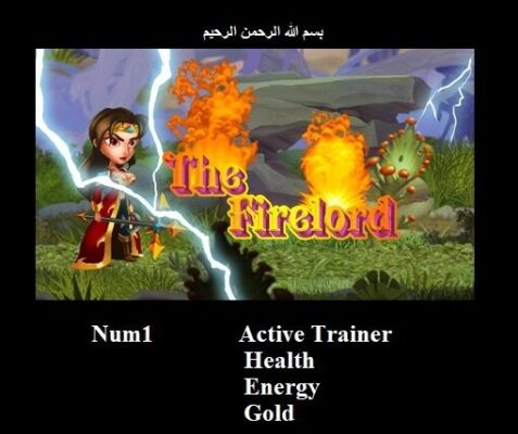 The Firelord Trainer Unlimited Energy