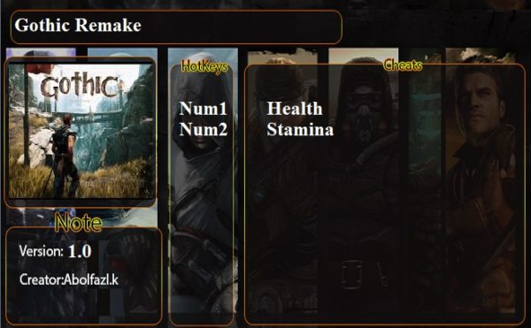 Gothic Playable Teaser Trainer Infinite Health