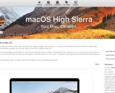MacOS High Sierra Direct Download