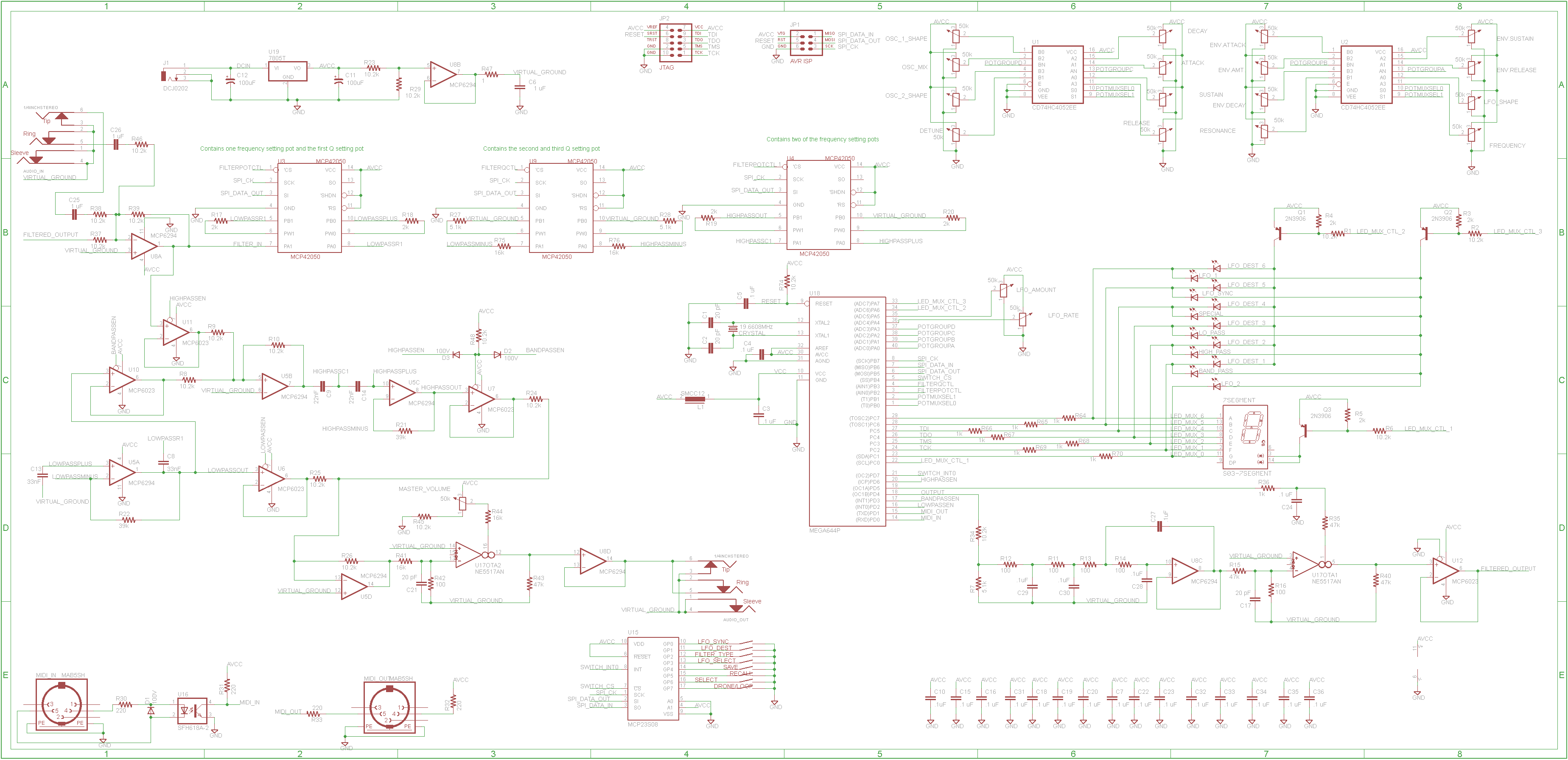 Rockit 8 Bit Synth Final Schematic And Pcb Hackme