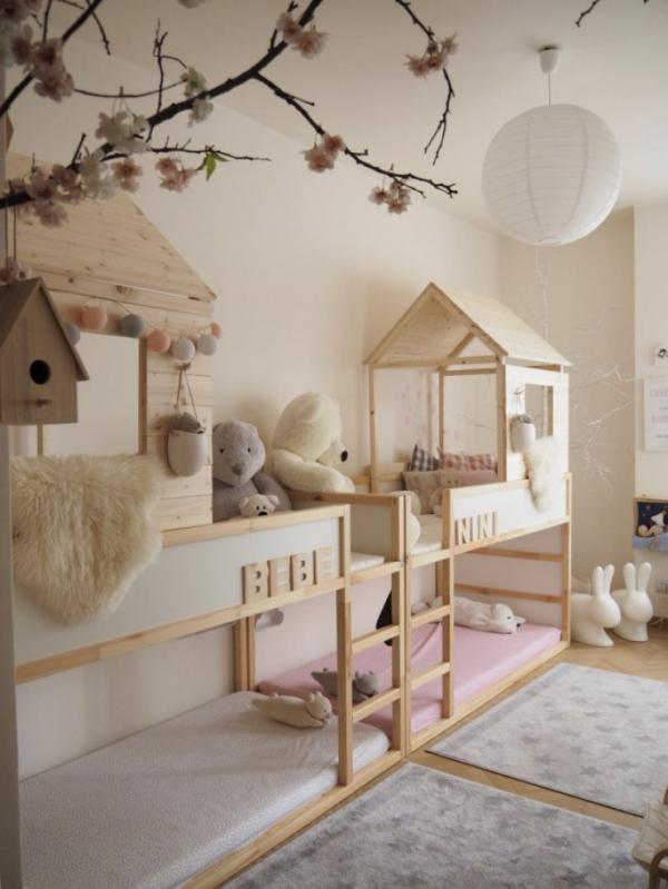 Ikea KURA Double House Bunk Hack