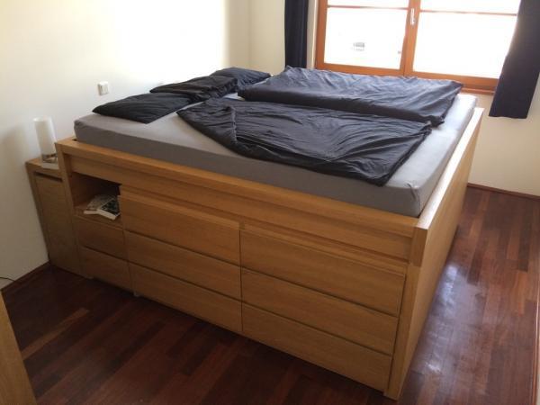 Genius Ikea Malm Storage Bed Hack