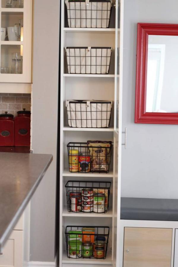 Ikea BILLY Kitchen Pantry Hack